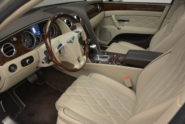 Used 2014 Bentley Flying Spur W12 for sale Sold at Pagani of Greenwich in Greenwich CT 06830 17