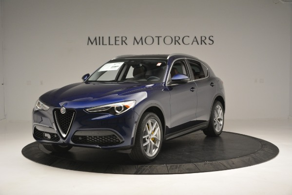 New 2018 Alfa Romeo Stelvio Ti Lusso Q4 for sale Sold at Pagani of Greenwich in Greenwich CT 06830 1