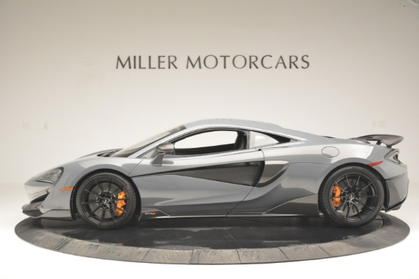 New 2019 McLaren 600LT Coupe for sale Call for price at Pagani of Greenwich in Greenwich CT 06830 3