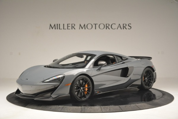 New 2019 McLaren 600LT Coupe for sale Call for price at Pagani of Greenwich in Greenwich CT 06830 1