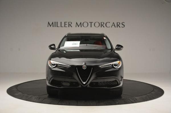New 2019 Alfa Romeo Stelvio Q4 for sale Sold at Pagani of Greenwich in Greenwich CT 06830 12