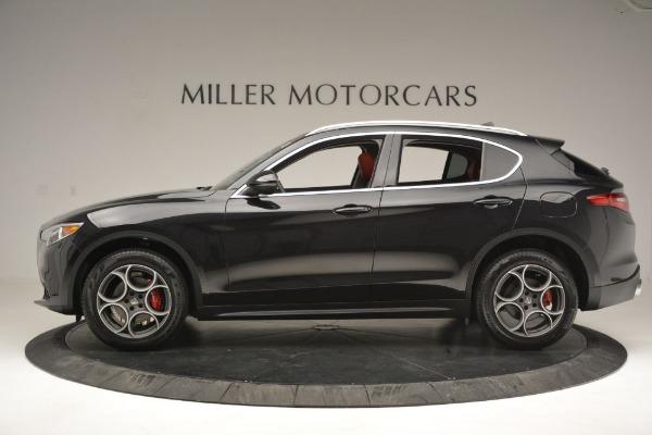 New 2019 Alfa Romeo Stelvio Q4 for sale Sold at Pagani of Greenwich in Greenwich CT 06830 3