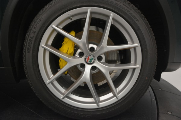 New 2019 Alfa Romeo Stelvio Ti Sport Q4 for sale Sold at Pagani of Greenwich in Greenwich CT 06830 26