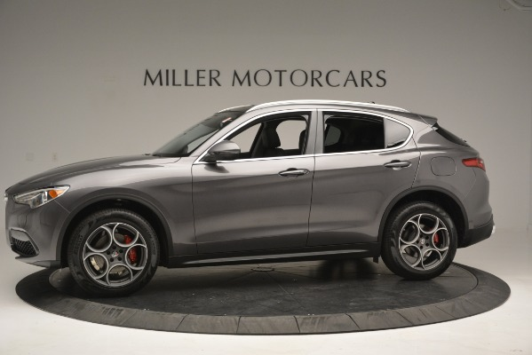 New 2019 Alfa Romeo Stelvio Q4 for sale Sold at Pagani of Greenwich in Greenwich CT 06830 3