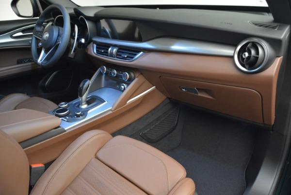 New 2019 Alfa Romeo Stelvio Sport Q4 for sale Sold at Pagani of Greenwich in Greenwich CT 06830 20
