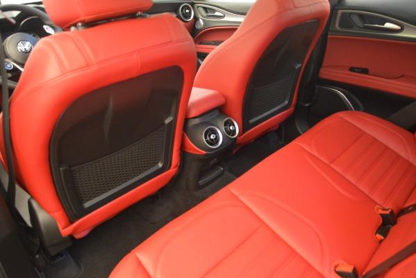 New 2019 Alfa Romeo Stelvio Ti Sport Q4 for sale Sold at Pagani of Greenwich in Greenwich CT 06830 16