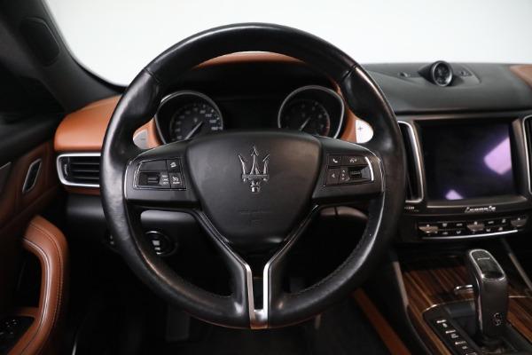 New 2019 Maserati Levante Q4 GranLusso for sale Sold at Pagani of Greenwich in Greenwich CT 06830 16