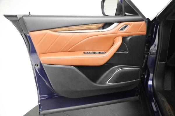 New 2019 Maserati Levante Q4 GranLusso for sale Sold at Pagani of Greenwich in Greenwich CT 06830 17