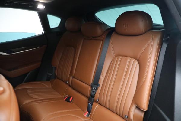 New 2019 Maserati Levante Q4 GranLusso for sale Sold at Pagani of Greenwich in Greenwich CT 06830 20