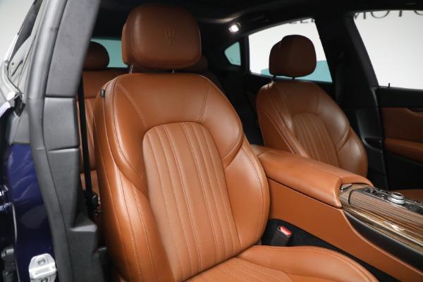 New 2019 Maserati Levante Q4 GranLusso for sale Sold at Pagani of Greenwich in Greenwich CT 06830 21