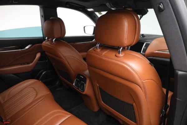 New 2019 Maserati Levante Q4 GranLusso for sale Sold at Pagani of Greenwich in Greenwich CT 06830 24