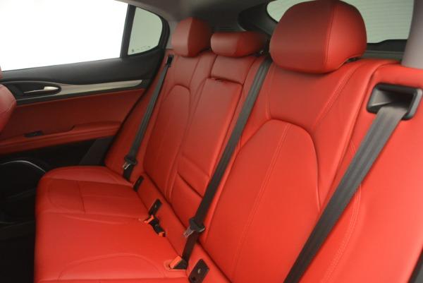 New 2019 Alfa Romeo Stelvio Sport Q4 for sale Sold at Pagani of Greenwich in Greenwich CT 06830 18