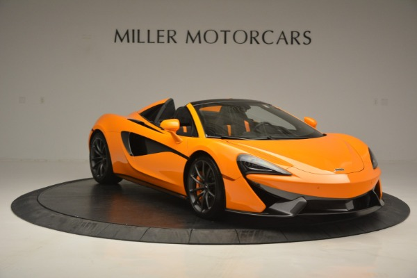 Used 2019 McLaren 570S Spider for sale Sold at Pagani of Greenwich in Greenwich CT 06830 11