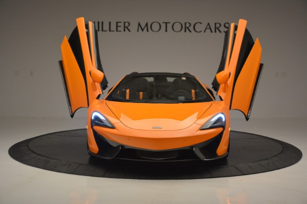 Used 2019 McLaren 570S Spider for sale Sold at Pagani of Greenwich in Greenwich CT 06830 13