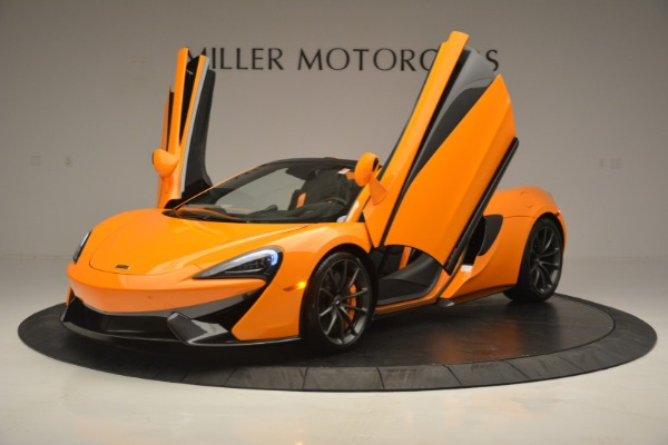 Used 2019 McLaren 570S SPIDER Convertible for sale $240,720 at Pagani of Greenwich in Greenwich CT 06830 14