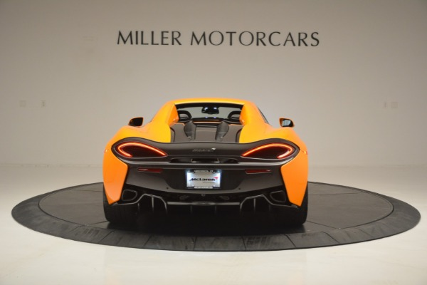 Used 2019 McLaren 570S SPIDER Convertible for sale $240,720 at Pagani of Greenwich in Greenwich CT 06830 18