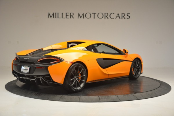 Used 2019 McLaren 570S SPIDER Convertible for sale $240,720 at Pagani of Greenwich in Greenwich CT 06830 19