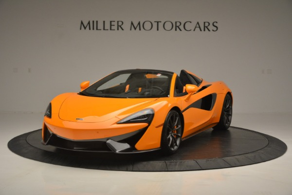 Used 2019 McLaren 570S SPIDER Convertible for sale $240,720 at Pagani of Greenwich in Greenwich CT 06830 2
