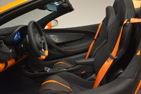 Used 2019 McLaren 570S Spider for sale Sold at Pagani of Greenwich in Greenwich CT 06830 24