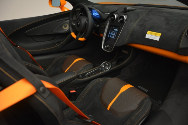 Used 2019 McLaren 570S Spider for sale Sold at Pagani of Greenwich in Greenwich CT 06830 26