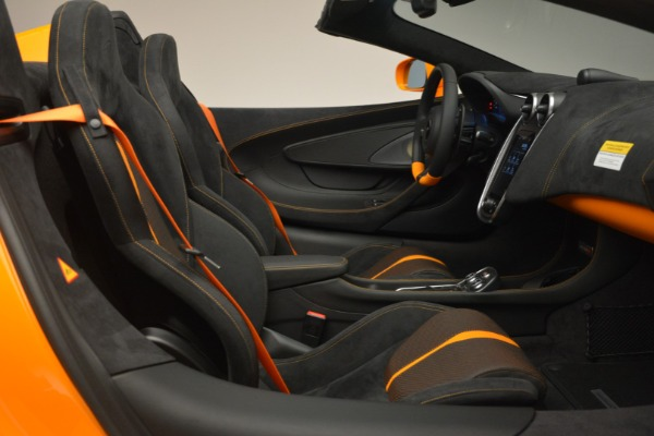 Used 2019 McLaren 570S Spider for sale Sold at Pagani of Greenwich in Greenwich CT 06830 27