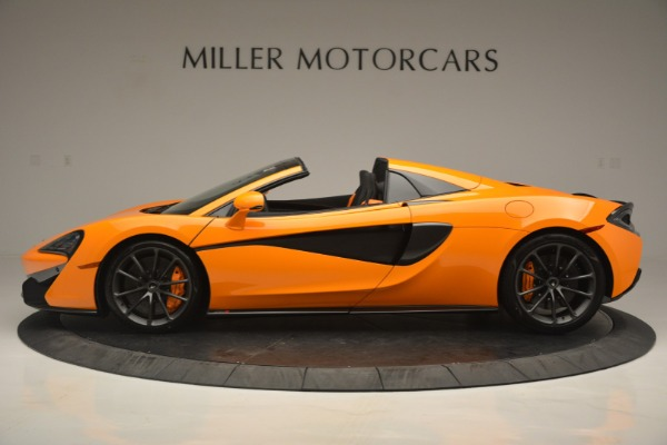 Used 2019 McLaren 570S SPIDER Convertible for sale $240,720 at Pagani of Greenwich in Greenwich CT 06830 3