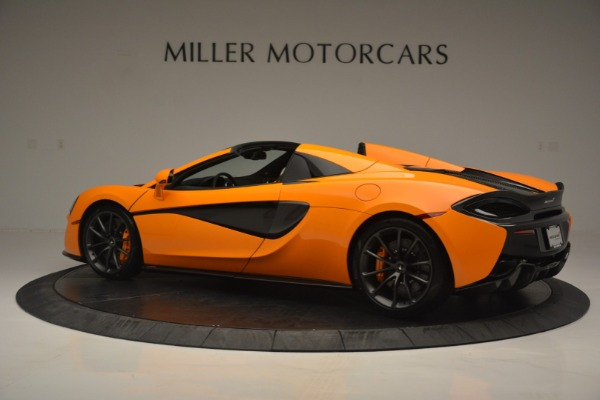 Used 2019 McLaren 570S SPIDER Convertible for sale $240,720 at Pagani of Greenwich in Greenwich CT 06830 4