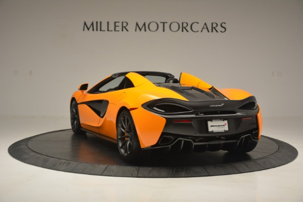 Used 2019 McLaren 570S Spider for sale Sold at Pagani of Greenwich in Greenwich CT 06830 5
