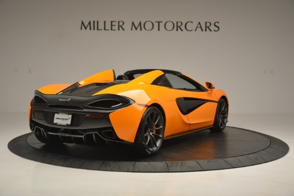 Used 2019 McLaren 570S SPIDER Convertible for sale $240,720 at Pagani of Greenwich in Greenwich CT 06830 7