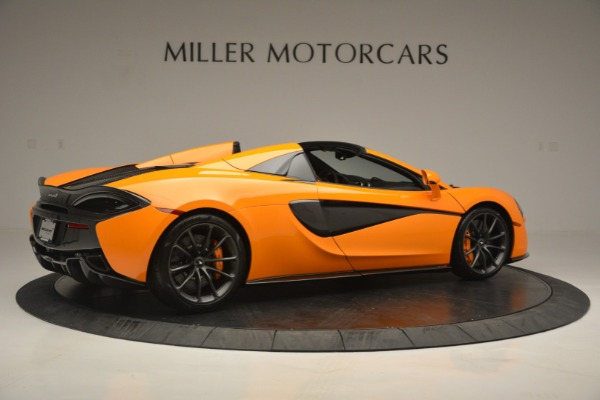 Used 2019 McLaren 570S SPIDER Convertible for sale $240,720 at Pagani of Greenwich in Greenwich CT 06830 8
