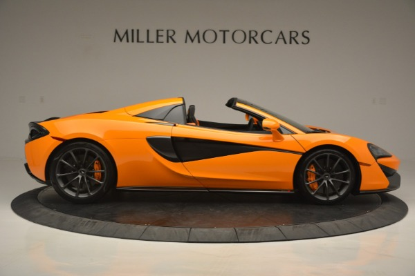 Used 2019 McLaren 570S SPIDER Convertible for sale $240,720 at Pagani of Greenwich in Greenwich CT 06830 9