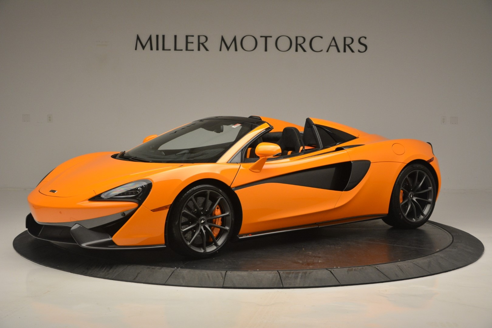 Used 2019 McLaren 570S Spider for sale Sold at Pagani of Greenwich in Greenwich CT 06830 1