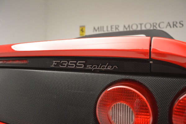Used 1997 Ferrari 355 Spider 6-Speed Manual for sale Sold at Pagani of Greenwich in Greenwich CT 06830 27