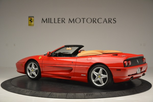 Used 1997 Ferrari 355 Spider 6-Speed Manual for sale Sold at Pagani of Greenwich in Greenwich CT 06830 4
