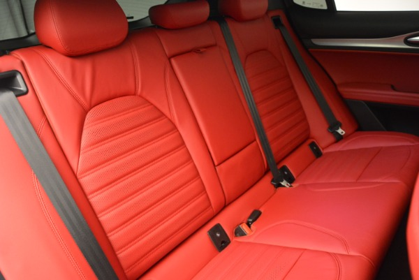 New 2019 Alfa Romeo Stelvio Ti Sport Q4 for sale Sold at Pagani of Greenwich in Greenwich CT 06830 24