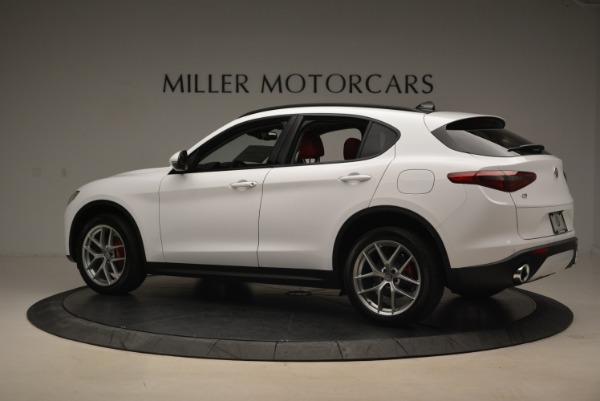 New 2019 Alfa Romeo Stelvio Ti Sport Q4 for sale Sold at Pagani of Greenwich in Greenwich CT 06830 4