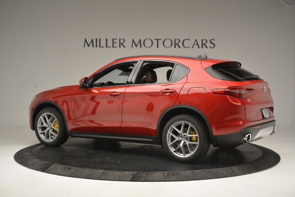 New 2019 Alfa Romeo Stelvio Ti Sport Q4 for sale Sold at Pagani of Greenwich in Greenwich CT 06830 4