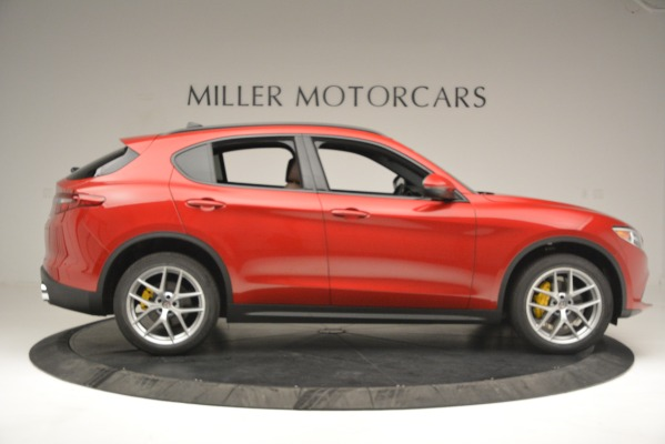 New 2019 Alfa Romeo Stelvio Ti Sport Q4 for sale Sold at Pagani of Greenwich in Greenwich CT 06830 9