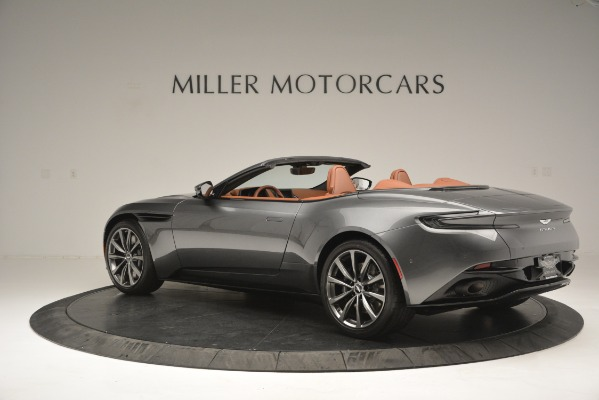 New 2019 Aston Martin DB11 V8 Convertible for sale Sold at Pagani of Greenwich in Greenwich CT 06830 3