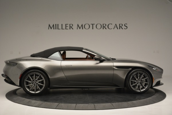 Used 2019 Aston Martin DB11 V8 Convertible for sale Sold at Pagani of Greenwich in Greenwich CT 06830 16