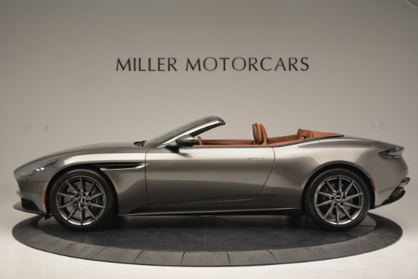 Used 2019 Aston Martin DB11 V8 Convertible for sale Sold at Pagani of Greenwich in Greenwich CT 06830 3