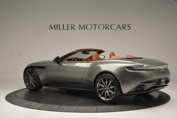 Used 2019 Aston Martin DB11 V8 Convertible for sale Sold at Pagani of Greenwich in Greenwich CT 06830 4