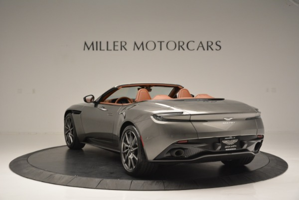Used 2019 Aston Martin DB11 V8 Convertible for sale Sold at Pagani of Greenwich in Greenwich CT 06830 5