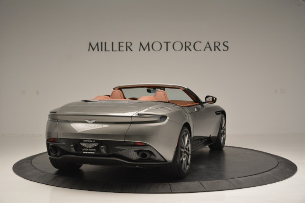 Used 2019 Aston Martin DB11 V8 Convertible for sale Sold at Pagani of Greenwich in Greenwich CT 06830 7