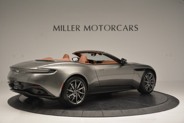 Used 2019 Aston Martin DB11 V8 Convertible for sale Sold at Pagani of Greenwich in Greenwich CT 06830 8