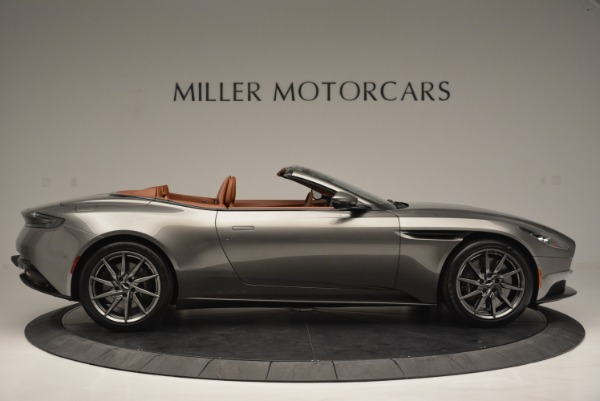 Used 2019 Aston Martin DB11 V8 Convertible for sale Sold at Pagani of Greenwich in Greenwich CT 06830 9