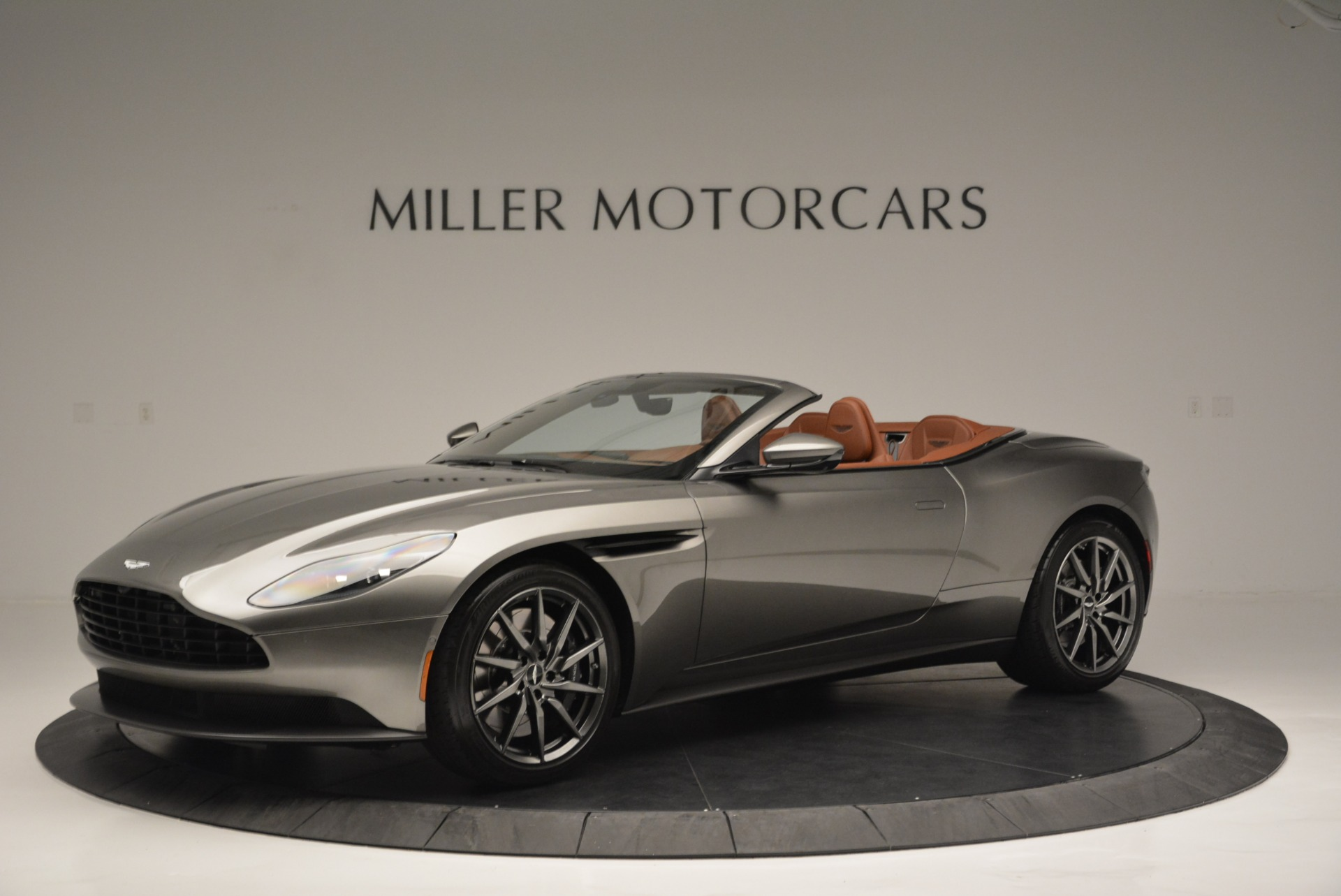 Used 2019 Aston Martin DB11 V8 Convertible for sale Sold at Pagani of Greenwich in Greenwich CT 06830 1