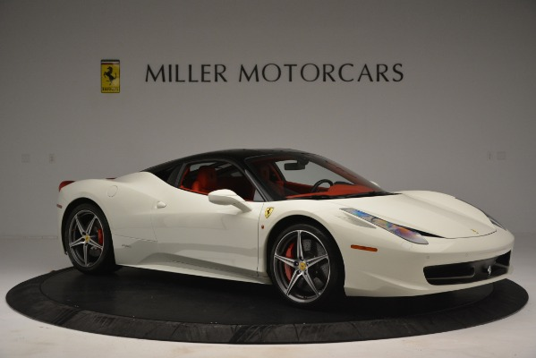 Used 2012 Ferrari 458 Italia for sale Sold at Pagani of Greenwich in Greenwich CT 06830 10