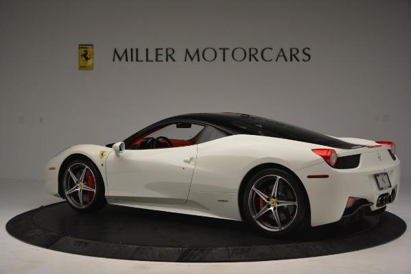 Used 2012 Ferrari 458 Italia for sale Sold at Pagani of Greenwich in Greenwich CT 06830 4