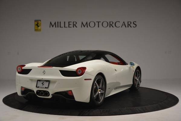 Used 2012 Ferrari 458 Italia for sale Sold at Pagani of Greenwich in Greenwich CT 06830 7